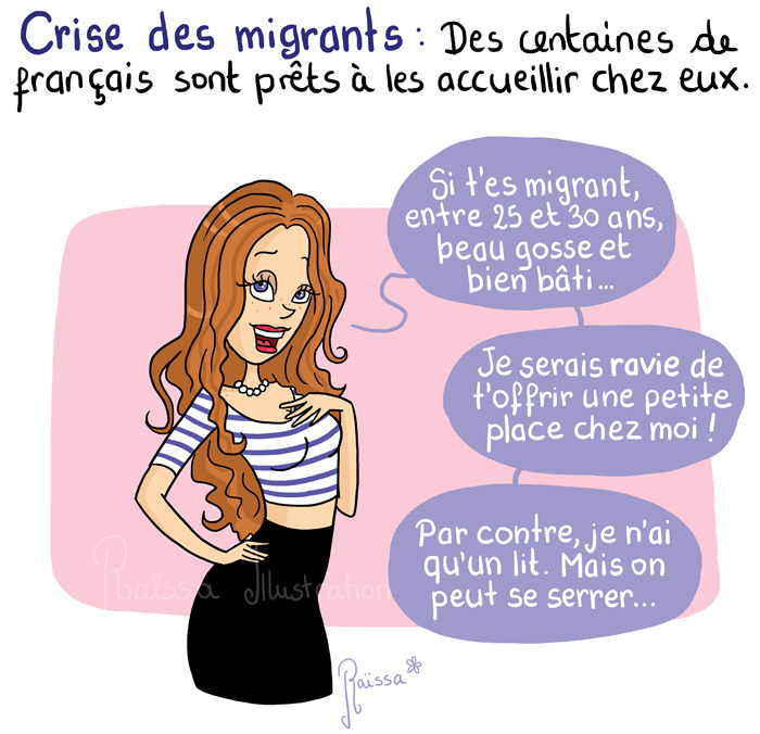 Connu migrants – Raïssa PO84